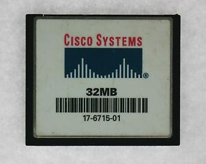Cisco 17-6715-01 Systèmes 32MB Flash Carte Pour C2600 Séries Routeur