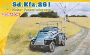 Dragon 7447 1/72 Plastic WWII German Sd.Kfz. 261 Kliene Panzerfunkwagen