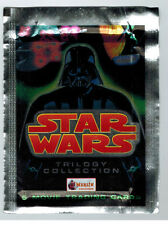 UNOPENED PACK STAR WARS TRILOGY TRADING CARDS DARTH VADER WRAPPER FROM BOX