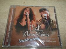 LIEL & KLAUS MEINE  THE SCORPIONS send me an angel  ISRAEL ISRAELI PROMO MINT CD