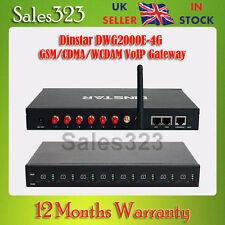 DWG2000E-4G GSM/CDMA/wcdam Gateway Voip, Goip, SMS, asterisco, Trixbox