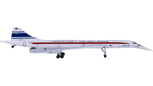 1:500 Herpa Aérospatiale-BAC Concorde Passenger Airplane Diecast Aircraft Model