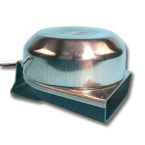 Trem Stainless Steel Low Profile 12v Marine Horn. Ideal for a boat, Yacht, Car..