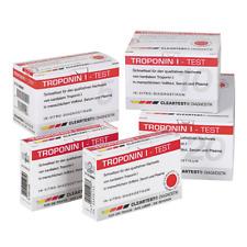 Cleartest® Troponin I - bei Verdacht auf Herzinfarkt | + Sicherheitslanzetten