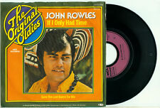 JOHN ROWLES If I Only Had Time / Save the Last Dance GERMAN PS JUKEBOX VINYL 7""