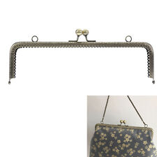 1pcs New Sewing 25cm Frame Kiss Clasp Lock Handle Arch For DIY Purse Bag Crafts