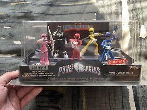 2017 Hero World Power Rangers 5-Ranger Set Funko Target Excl. NRFB