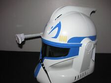 Star Wars Clone Storm Trooper Rex Voice Electronic Talking Helmet with Antenna