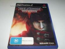 Dirge of Cerberus Final Fantasy VII PS2 PAL *Complete*