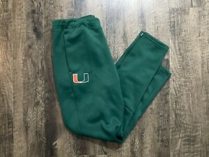 Adidas Miami Hurricanes Gamemode Pants Joggers Green Men's Size XL NEW $75