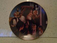 More details for star wars  hamilton collection ben obi-wan kenobi jedi knight plate
