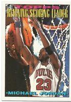 MICHAEL JORDAN Reigning Scoring Leader Topps 1993-94 - #384 - Pack Fresh