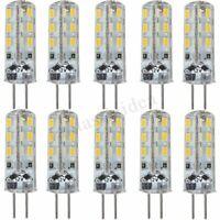 10x G4 LED 1.5W SMD LED Stiftsockel Leuchtmittel Strahler Lampe Warmweiß    3