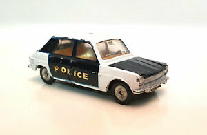 DINKY TOYS SIMCA 1100 POLICE MADE IN SPAIN ECHELLE 1/43 BE