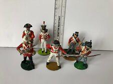 metal British Redcoats