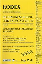 KODEX Rechnungslegung und Prüfung 2011/12 - Recht Österreich Linde