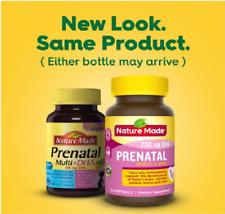 Nature Made Prenatal plus DHA Softgels 60 Count