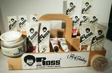 Mixed Lot of Bob Ross Oil Paints AND WOOD TOTE BOX WITH BUMPER STICKER  MORE!!