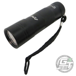 MVP Disc Sports ECLIPSE Disc Golf UV GLOW Charging Flashlight - BLACK