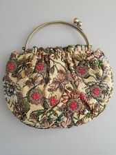 Butler & Wilson Floral Embroidered Beaded Tapestry Bag. BNWOT