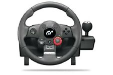 Logitech GT Driving Force E-X5C19 Steering Wheel PS2, PS3 and PC * NO FOOT PEDAL