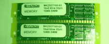 Gold 32MB MEMORY RAM for AKAI MPC3000 MPC 3000 2x 16MB Kit