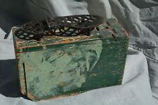 Vintage WW1 Green Ammo Box Shoe Shine Kit