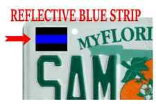 6 Pack Tag (F15) Thin Blue Line Cop Police Vinyl Decal Sticker Car Window