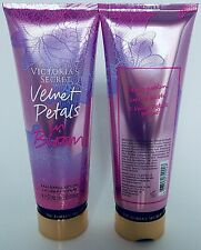 2 VICTORIA'S SECRET VELVET PETALS IN BLOOM FRAGRANCE LOTION PARFUMEE 8oz 236ml