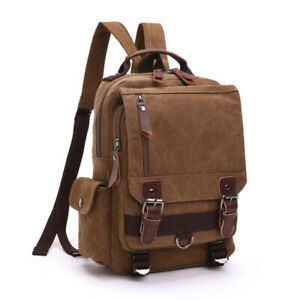 Casual Fashion Canvas Bag Outdoor Travel Backpack