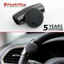 Black Car Steering Wheel ABS Auxiliary Rotatable Knob Catcher Ball Accessories~