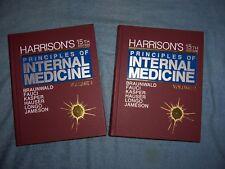 HARRISON'S PRINCIPALS OF INTERNAL MEDICINE/15th Ed/2 vols/HC/Medical