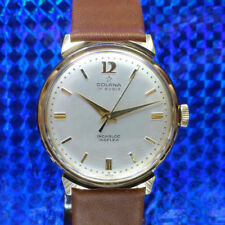 Vergoldete mechanische - (Handaufzugs) Armbanduhren im Vintage-Stil