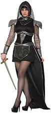 femmes 4 pièces sexy chevalier médiéval Halloween déguisement costume tenue