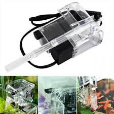 Aquarium Hang On Back Waterfall Filter For Fish Tank External Filtration 300L/H