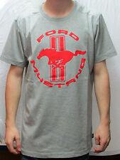 Camiseta T-Shirt Ford MUSTANG gris rojo talla XL 35021289