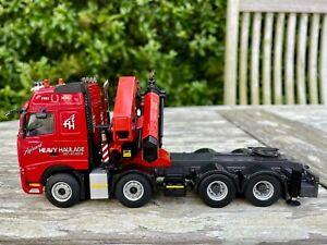 1:50 WSI Aylward Volvo FH2 8x4 with Palfinger and 3 axle Dennison 02-1630