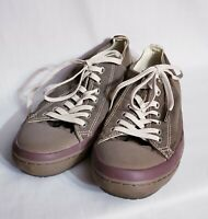 Converse All Star Premium Low Top Brown Sneakers Women's 10 Chuck Taylor Shoes