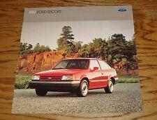 Original 1989 Ford Escort Sales Brochure 89