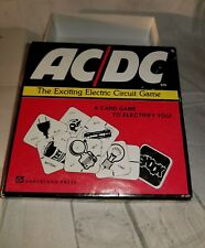 The Exciting Electric Circuit Card Game AC/DC 1975 Ampersand Press Vintage