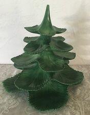 VINTAGE JAMAR MALLORY DIV. Of ALBERTA'S 1960 CERAMIC STACKING CHRISTMAS TREE