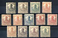 Sellos Guinea Española 1912 nº 85/97 Alfonso XIII colonias España Spain stamps