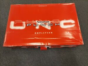 BRAND NEW IN THE BOX OLD SCHOOL ROCKFORD FOSGATE PUNCH P8004 MADE IN USA