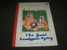 1992 THE GREAT EUCALPTUS MYSTERY BY PAUL COX HARDCOVER BOOK - I 683