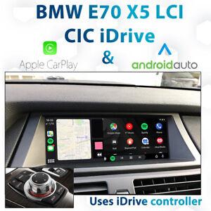 BMW E70 X5 CIC iDrive LCI / Apple CarPlay & Android Integration