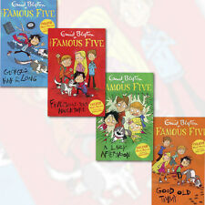 Enid Blyton Famous Five Colour Readers Collection 4 Books Set, (Good Old Timmy)
