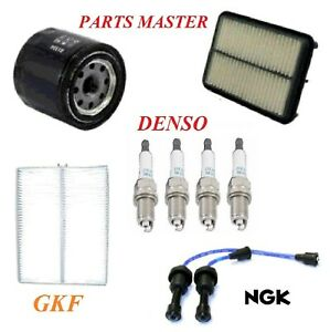 Tune Up Kit Filters Wire Spark Plugs For HYUNDAI SANTA FE L4 2.4L 2005-2006