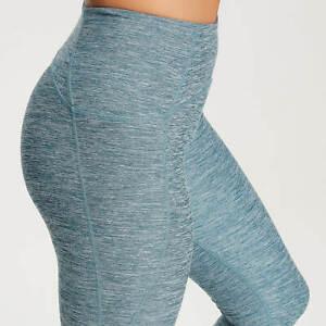 MyProtein Composure Blue green leggings yoga pants