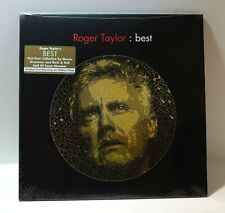 ROGER TAYLOR Best YELLOW COLOR VINYL 2xLP Sealed QUEEN Limited Edition