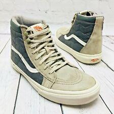 VANS Sk8 Hi MTE Skateboard Scotchgard 3M Men's 9 Womens10.5 Gray Suede Shoes